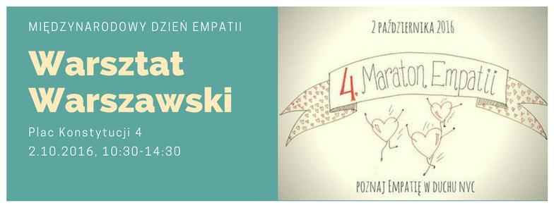 Maraton Empatii w Warsztacie Warszawskim