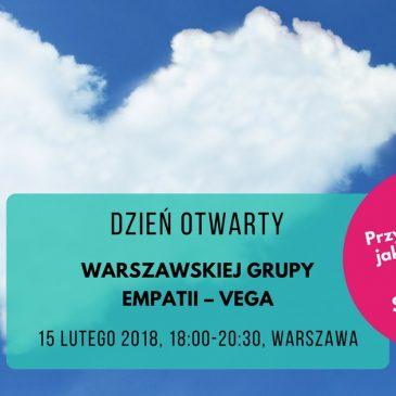 Dzień otwarty Warszawskiej Grupy Empatii – Vega