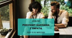 Podstawy słuchania z empatią Empathic Way Magdalena Malinowska Porozumienie bez Przemocy NVC