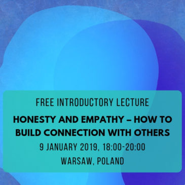 "Wykład po angielsku ""Honesty and empathy – how to build connection with others"""