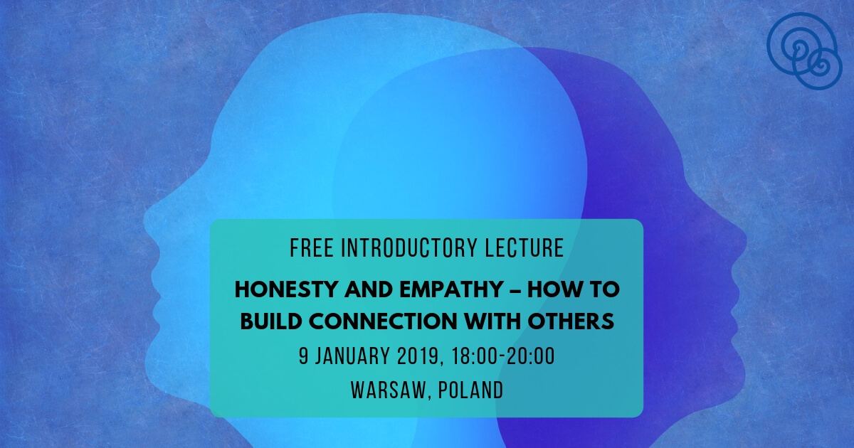 Introductory lecture Honesty and empathy – how to build connection with others Empathic Way Europe