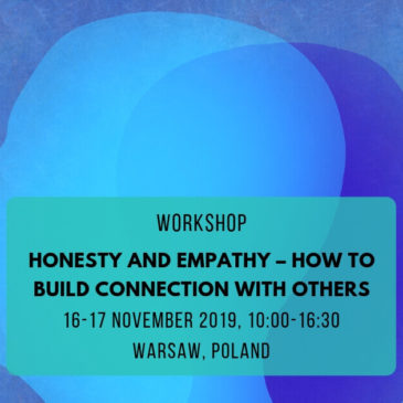 "[ODWOŁANE] Warsztaty ""Honesty and empathy – how to build connection with others"""