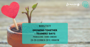 Growing together – trainers' days Shona Cameron NVC workshop
